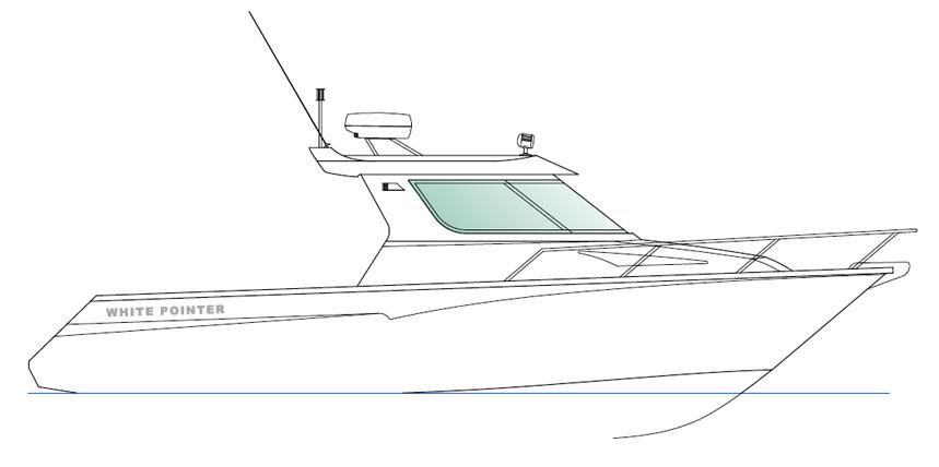 750 Custom Cruiser White Pointer Boats Custom Alloy
