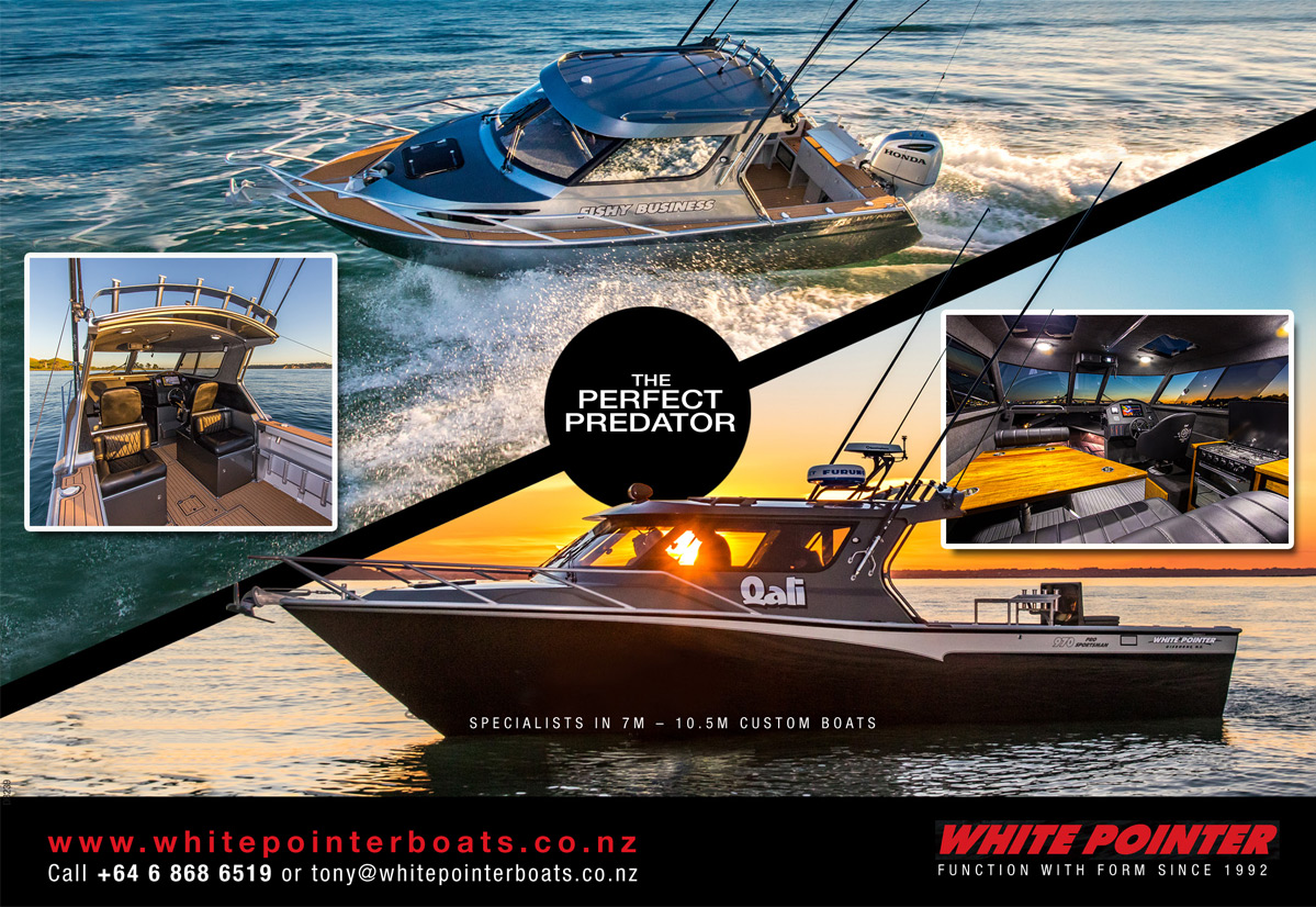 White Pointer Boats - The Perfect Predator