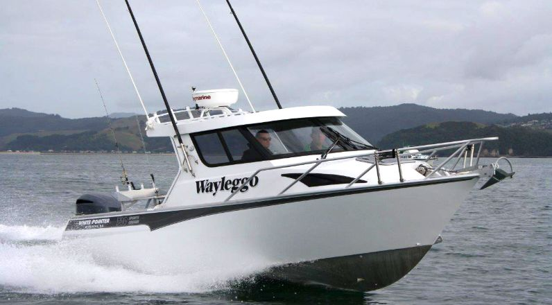 730 Sports Cruiser - White Pointer Boats : custom alloy boat builders, aluminium boats, fishing ...