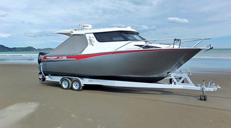840 Sports Cruiser - White Pointer Boats : custom alloy boat builders, aluminium boats, fishing ...