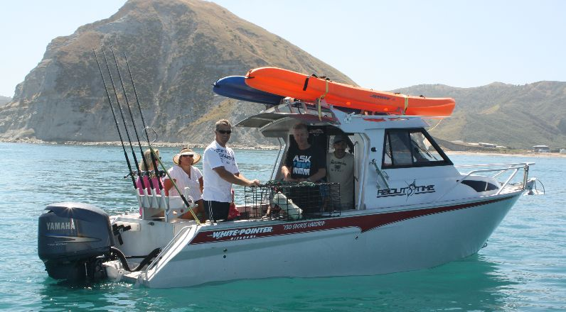 730 Sports Hardtop - White Pointer Boats : custom alloy boat builders, aluminium boats, fishing ...